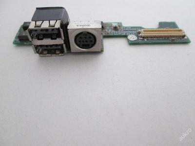 USB, S-Video Board z Dell D600 PP05L