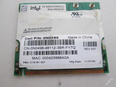 Wifi modul z Dell D600 PP05L