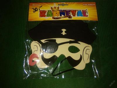 kostým - maska piráta
