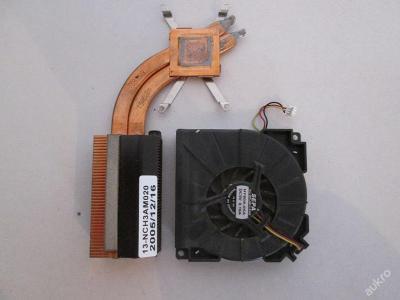 Chlazení + ventilátor z Asus A6000 A6U