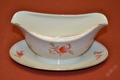 omáčník BAVARIA béžový porcelán