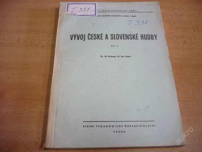 VÝVOJ ČESKÉ A SLOVENSKÉ HUDBY 1966 (náklad 400)
