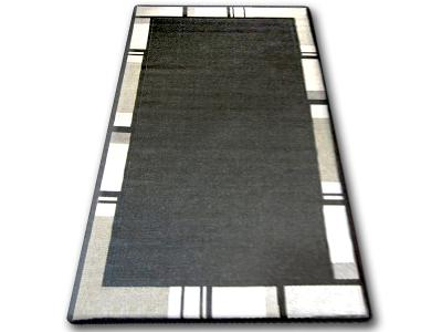 KOBEREC FLOORLUX SISAL 80x150 cm 20195 black/silver #DEV311