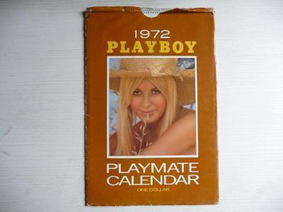 PLAYBOY - PLAYMATE CALENDAR z roku 1972