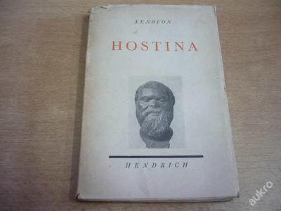 XENOFON - Hostina (1.vyd.1941)