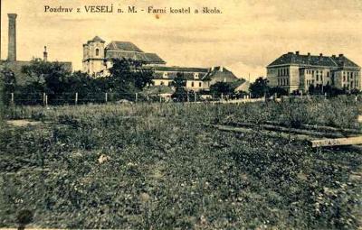 Veselí nad Moravou 1926 - Hodonín