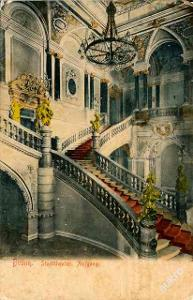 Brno   1906   divadlo interiér