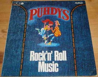 LP - Puhdys - Rock'n'Roll music / Perfektní stav!