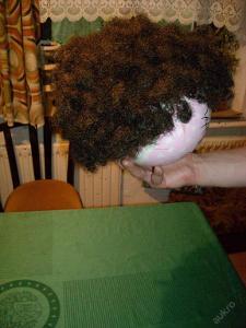 kostým - paruka - afro