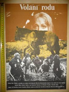 Filmový plakát - VOLÁNÍ RODU - z roku 1977