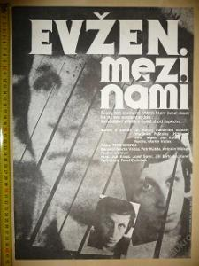 Filmový plakát - EVŽEN MEZI NÁMI (Jan Kraus) 1981