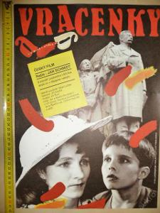 Filmový plakát z kina - VRACENKY - 1990