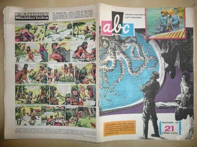 Časopis - ABC - 18. ročník z roku 1974 - číslo 21