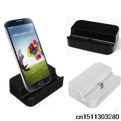 Nabíjecí stanice Nabíječka LG Samsung Galaxy ČERNÁ