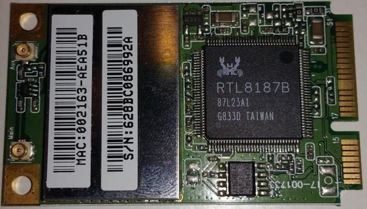 Wifi RTL8187B z Toshiba L300 - Notebooky, příslušenství