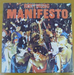 Roxy  Music - Manifesto, LP.