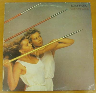 Roxy  Music - Flesh+Blood, LP.