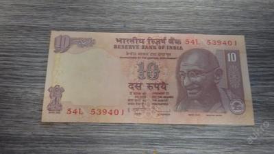 10 rupije INDIE UNC 2014