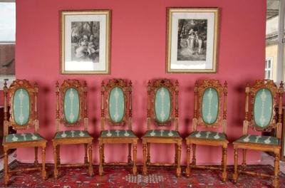 Starožitné židle - 6 kusů