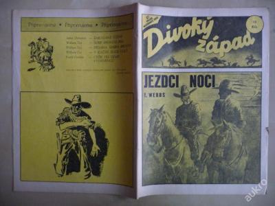 Časopis DIVOKÝ ZÁPAD č.27 - Jezdci noci