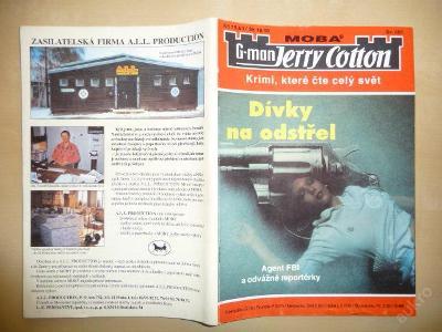 G-man JERRY COTTON - č.1 - Dívky na odstřel