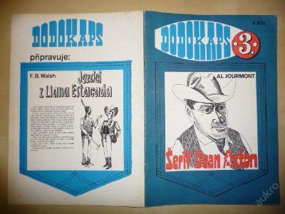 Časopis - DODOKAPS - č. 3./1990 - Šerif Dean Aston