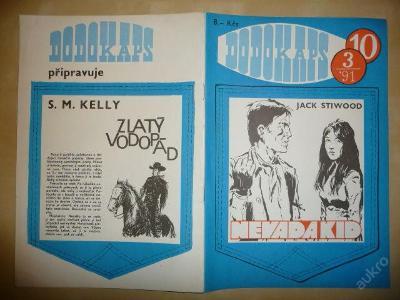 Časopis - DODOKAPS - č.10. (3/1991) - Nevada Kid
