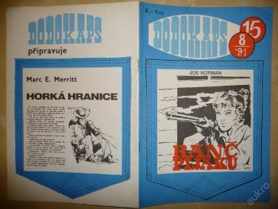Časopis - DODOKAPS - č.15. (8/1991) - Ranč pijáků