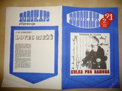 Časopis - DODOKAPS - č.21.(2/1992) - Kulka pro Ram