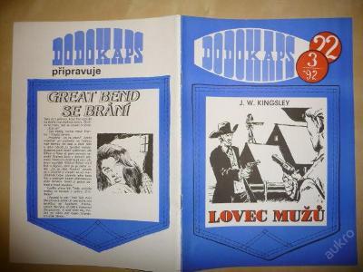 Časopis - DODOKAPS - č.22.(3/1992) - Lovec mužů