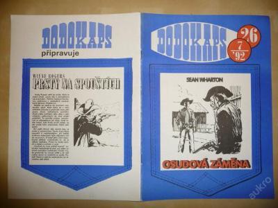 Časopis - DODOKAPS - č.26.(7/1992) - Osudová záměn
