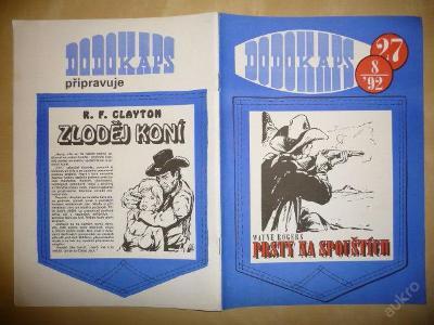 Časopis - DODOKAPS - č.27.(8/1992) - Prsty na spou