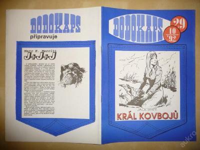Časopis - DODOKAPS - č.29.(10/1992) - Král kovbojů