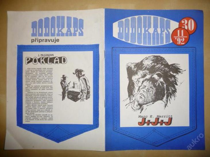 Časopis - DODOKAPS - č.30.(11/1992) - J+J+J - Knihy