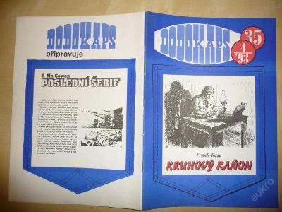 Časopis - DODOKAPS - č.35.(4/1993) - Kruhový kaňon