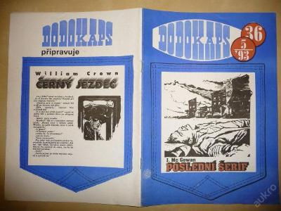 Časopis - DODOKAPS - č.36.(5/1993) -Poslední šerif