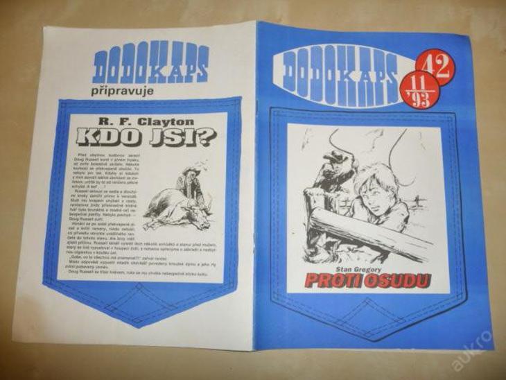 Časopis - DODOKAPS - č.42.(11/1993) - Proti osudu - Knihy