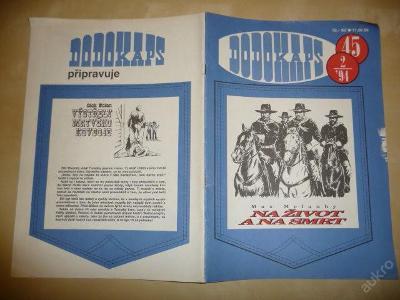 Časopis - DODOKAPS - č.45.(2/1994) - Na život a na