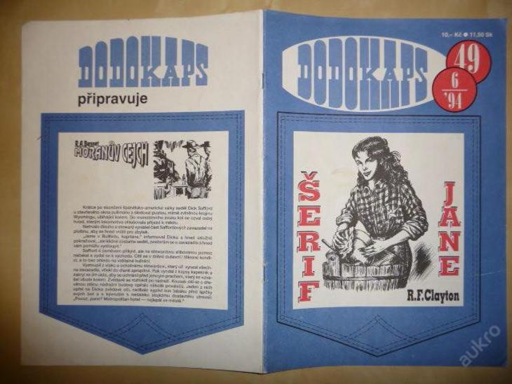 Časopis - DODOKAPS - č.49.(6/1994) - Šerif Jane - Knihy