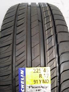 nové 2ks 225.45.17 Michelin Primacy HP 91Y MO