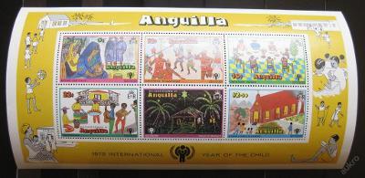 Anguilla 1979 Mezinárodní rok dětí SC# 336a 0103
