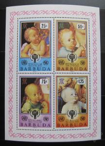 Barbuda 1979 Mezinárodní rok dětí SC# 412a 0104