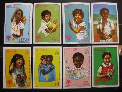 Belize 1980 Neperfer. SC# 490-97 Kat 1200Kc 0104