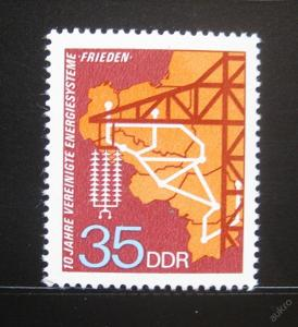 DDR 1973 Elektrický systém Mír SC# 1484 0314