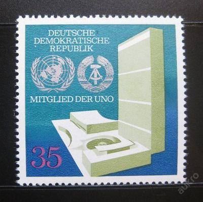 DDR 1973 Vstup do OSN SC# 1492 0314
