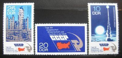 DDR 1973 Sovětská věda a technol. SC# 1494-96 0314
