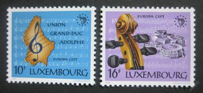 Lucembursko 1985 Europa CEPT Mi# 1125-26 0003