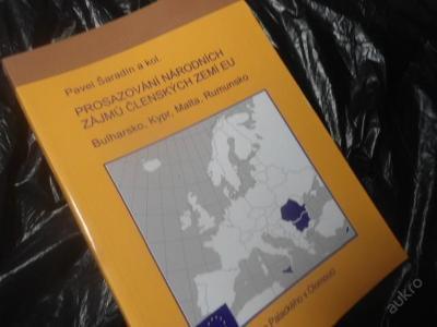 Prosazování národních zájmů členských  zemí EU  Bulharsko Kypr Malta