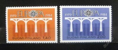 Finsko 1984 Evropa CEPT SC# 693-94 Kat 200Kc 0021