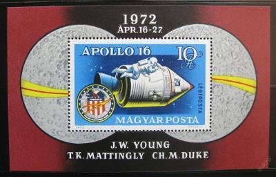 Maďarsko 1972 Apollo 14 SC# C326 0191